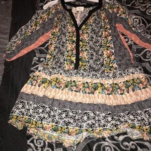 Boutique long sleeve dress/ or shirt